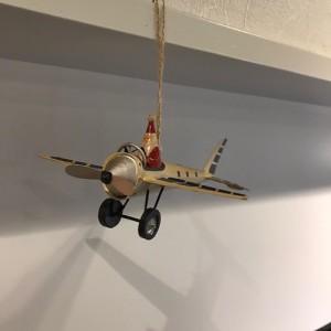Santa on Plane 1500
