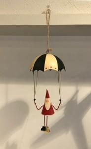 Santa on parachute 1200