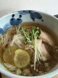 かぼす素麺